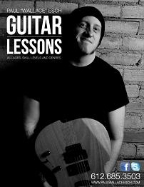 Guitar Lessons by Paul Esch